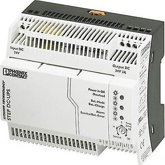 Schiene-Mount UPS (DIN) Phoenix Kontakt STEP-UPS/24DC/24DC/3