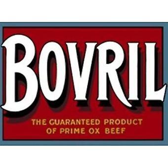 Parede de aço pequenas Bovril assinar 200 X 150 Mm