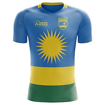 2018-2019 Ruanda Wohnkonzept Fußballtrikot