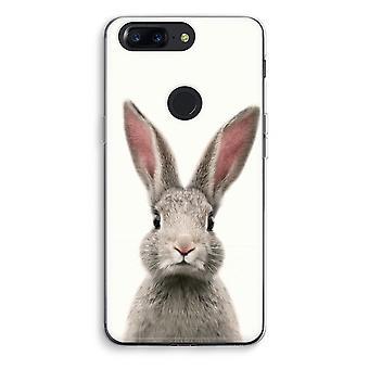 OnePlus 5T Transparent Case (Soft) - Daisy