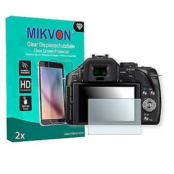 Panasonic Lumix DMC-G5H Screen Protector - Mikvon Clear (Retail Package with accessories)