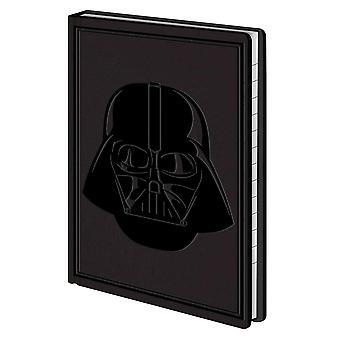 Star Wars Notizbuch Darth Vader DIN A6, Flexi-Cover, Look & Feel wie Leder, 192 Seiten liniert.