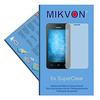 Huawei Ascend Y330 screen protector- Mikvon films SuperClear