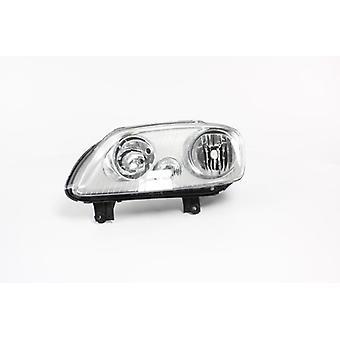 Left Headlamp (Electric With Motor) for Volkswagen TOURAN 2003-2010