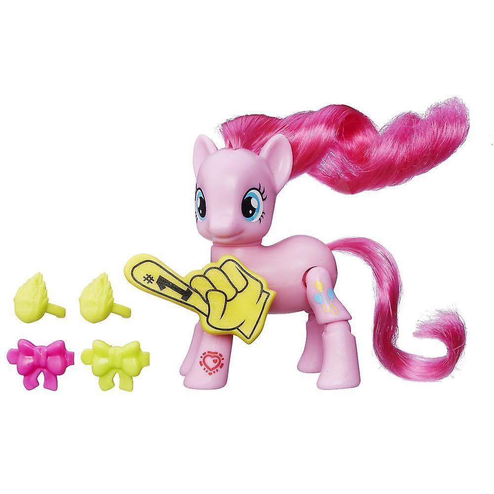 My Little Pony Pinkie Pie Cheering Med Rörliga Ben