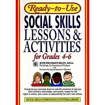 Klar-til-brug sociale færdigheder lektioner og aktiviteter for kvaliteter 4-6 med R