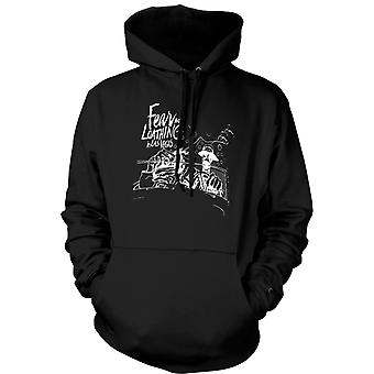 Womens Hoodie - Fear And Loathing - Cartoon - Funny