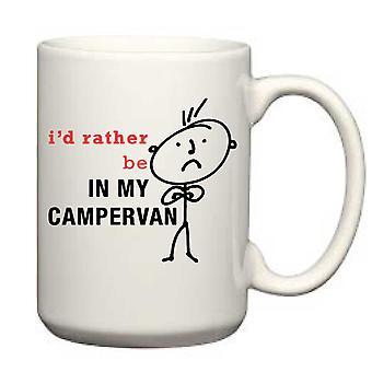 Men's I'd Rather Be In My Campervan Big Mug 15oz