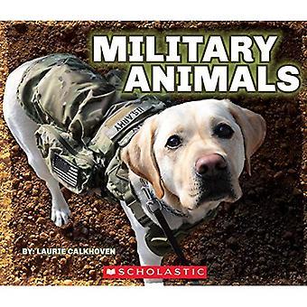 Animali militari con medagliette