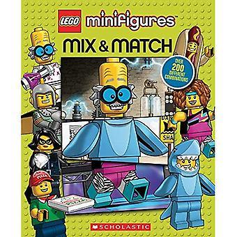 Minifiguras LEGO: Misturar e combinar (LEGO icónica) [livro de placa]