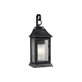Weathered zinco grande Outdoor Wall Lantern