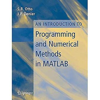 En introduktion till programmering och numeriska metoder med Matlab