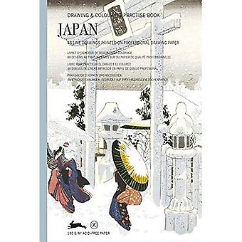 Japan: Drawing & Colouring Practise Book