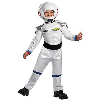 Hvit astronaut Toddler Costume
