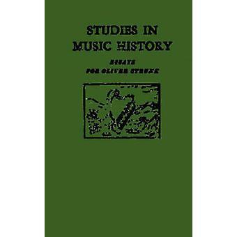 دراسات في الموسيقى محفوظات المقالات ل Strunk أوليفر القوى & هارولد