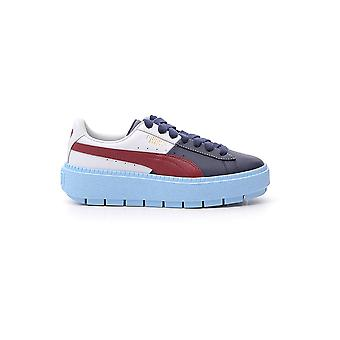 Puma Multicolor Leather Sneakers