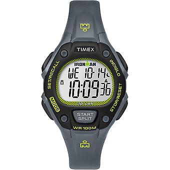Timex IRONMAN® Classic 30 Mid-Size Watch - Grey/Lime/Black