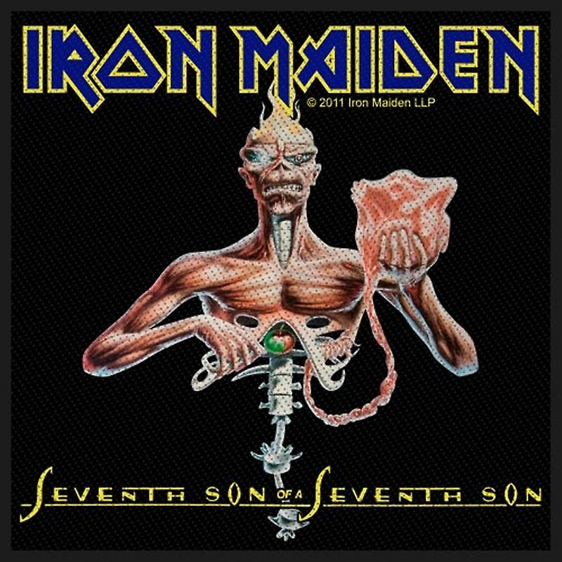 Iron Maiden Seventh Son of a Seventh Son sew-on cloth patch   (ro)
