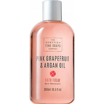 Scottish Fine Soaps Pink Grapefruit & Argan Oil Bath Foam