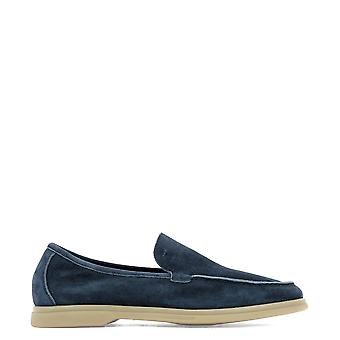 Arturo T Blue Suede Loafers