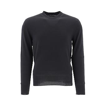 Tom Ford Black Cotton Sweater