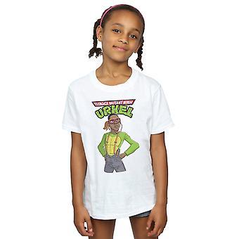 Pennytees Mädchen Teenage Mutant Ninja Urkel T-Shirt
