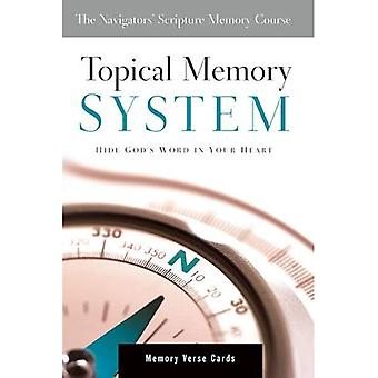 Topical Memory System: Hide God's Word in Your Heart (The Navigator's Scripture Memory Course)