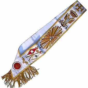 Masonic Rose Croix Sash - AASR - 33rd degree