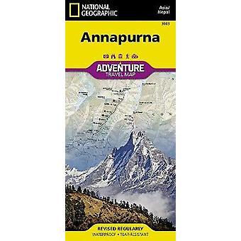 Annapurna-Nepal - Travel Maps International Adventure Map by National