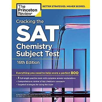 Cracking the Sat Chemistry Subject Test by Princeton Review - 9781524