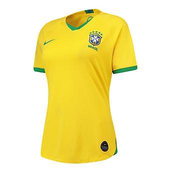 2019-2020 Brésil maison Nike femmes chemise