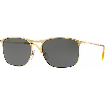 Persol 7359S wide gold polarized Green