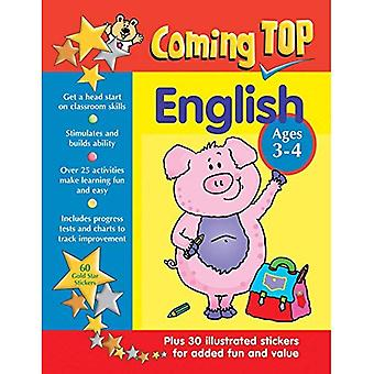 Coming Top: English - Ages 3-4