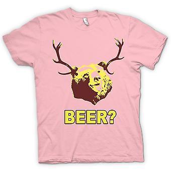 レディース t シャツ - 面白い飲むビールを負担