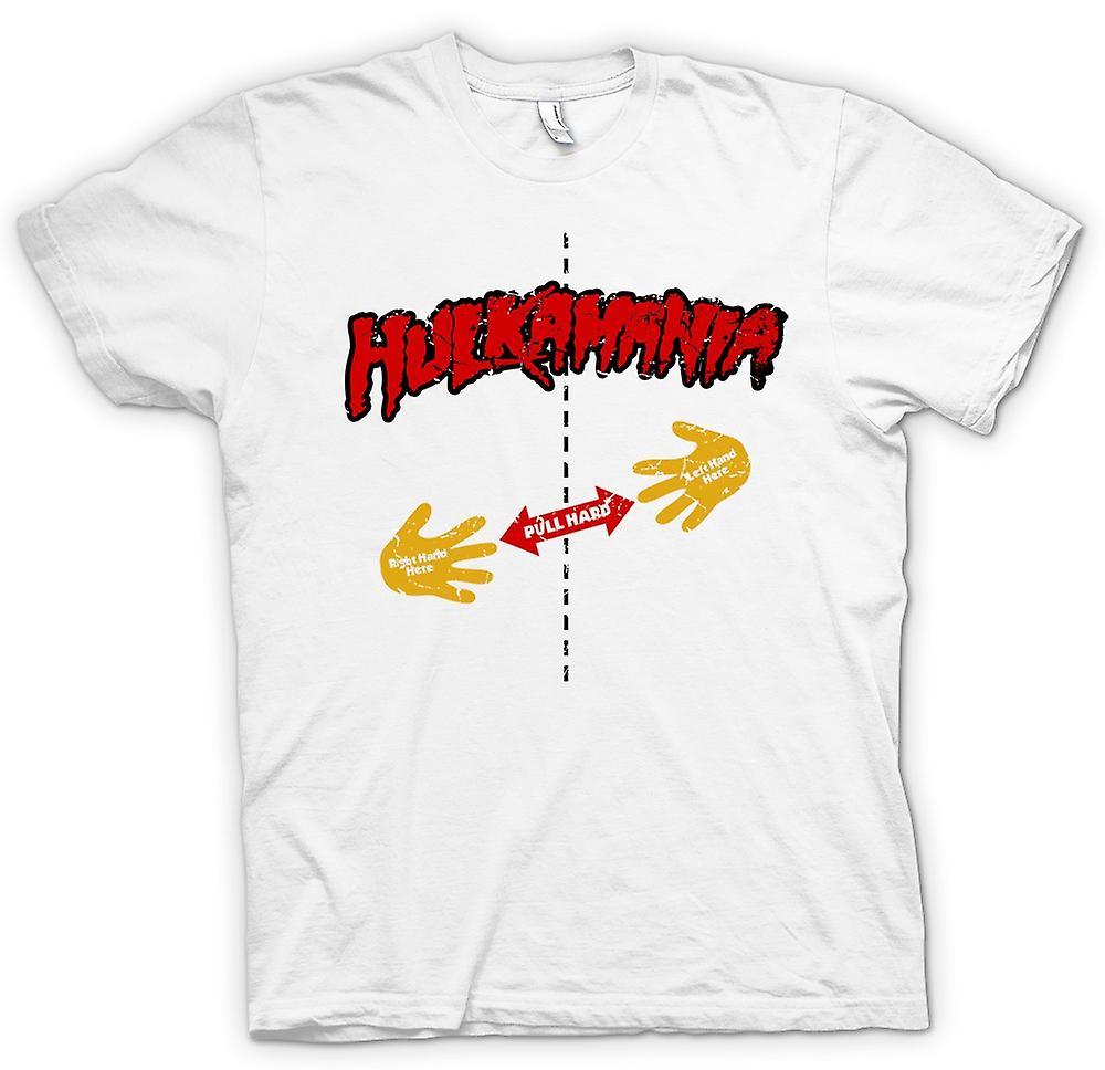 Womens T-shirt - Hulk Mania - Rip Shirt - Pull Here