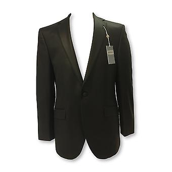 Without Prejudice 2 piece dinner suit in black