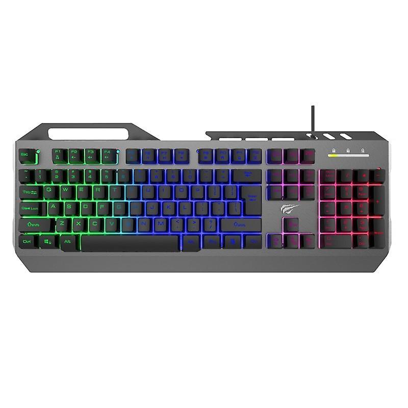 Havit HV-KB418L keyboard RGB USB Nordic