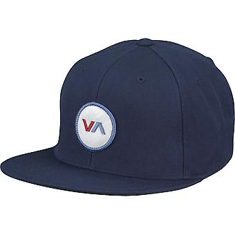 RVCA VA Sport Mens VA Patch Snapback Hat - Navy