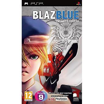 BlazBlue Calamity Trigger Portable (PSP) - Usine scellée