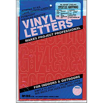 Permanent Adhesive Vinyl Letters & Numbers 3