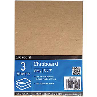 Crescent Recycled Chipboard Value Pack 3/Pkg-5