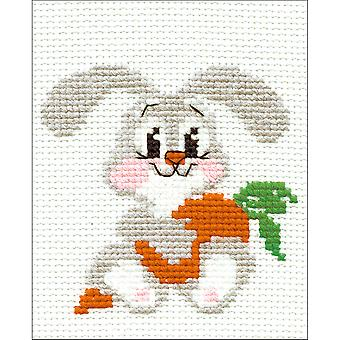 Droeve Bunny geteld Cross Stitch Kit-5