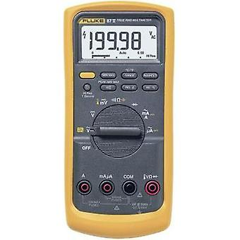 Handheld multimeter digital Fluke 87V/EUR Calibrated to: Manufacturer's standards (no certificate) CAT III 1000 V, CAT
