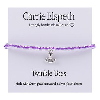 Carrie Elspeth Twinkle Toes Ballerina Dress Children's Bracelet