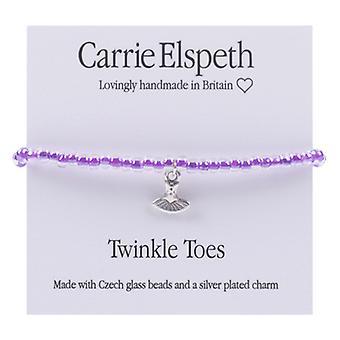 Carrie Elspeth Twinkle tæer Ballerina kjole børne armbånd