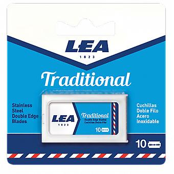 Lea Traditional Double Edge Blade Parts 10 Units (Herren , Rasieren , Rasierklingen)