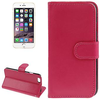 Cover cell phone case (flip cross) for mobile Apple iPhone 6 pink