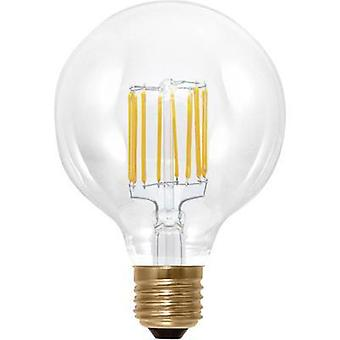 LED Segula 230 V E27 6 W = 35 W Warm white EEC: A+ Globe (Ø x L) 95 mm x 130 mm dimmable, Filament 1 pc(s)