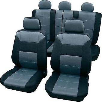 Petex Dakar Universal Car Seat Cover Set Grey, Black