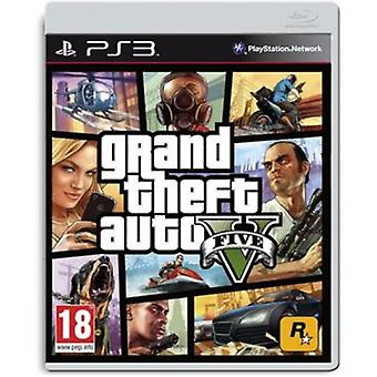 PlayStation Grand Theft Auto V Ps3 (legetøj, Multimedia og elektronik, videospil)